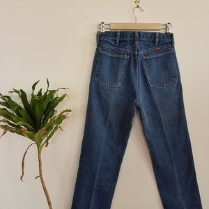 Vintage Rustler high waist straight leg jeans